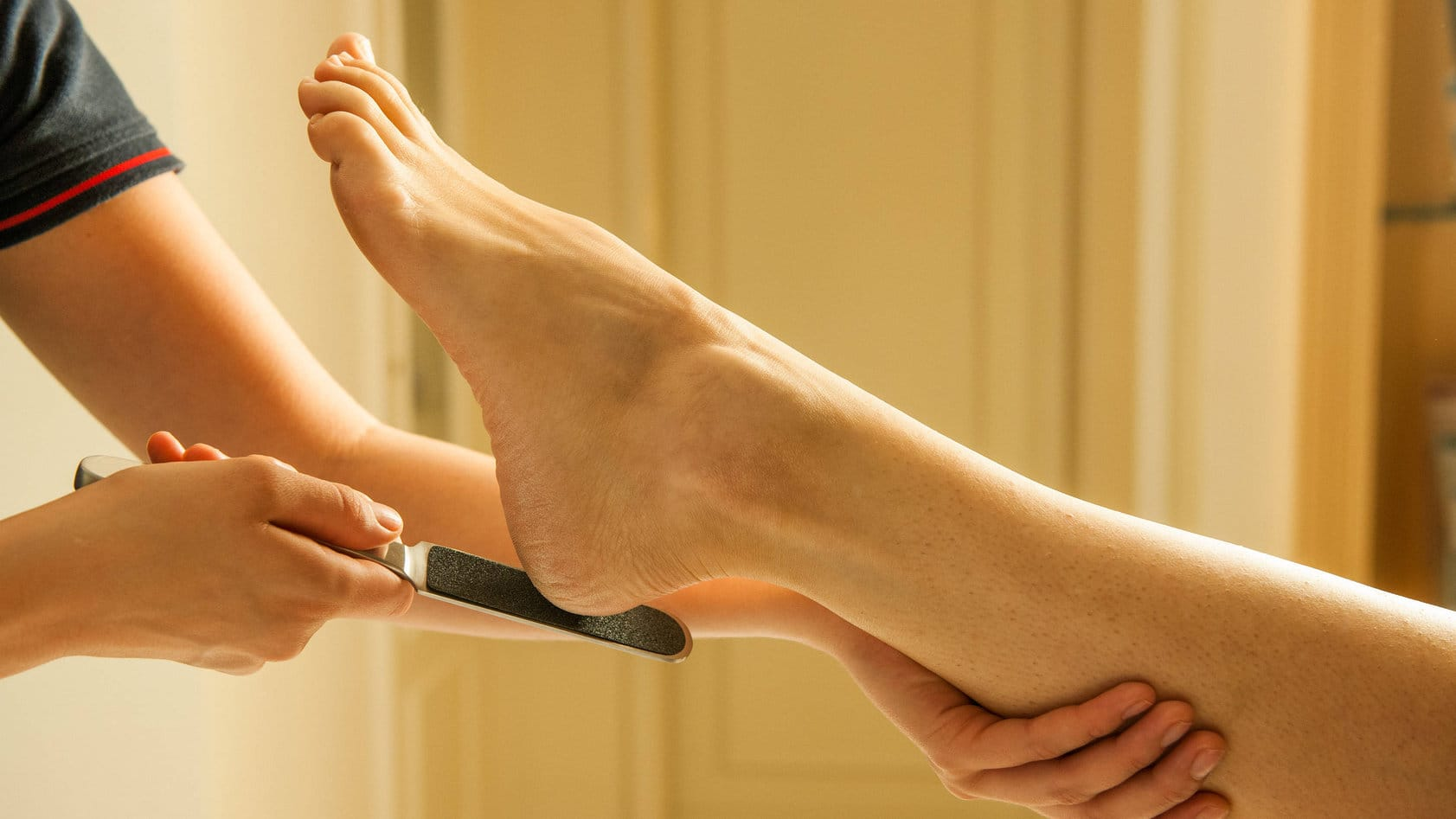 Mouth Wash for Dry Feet. Impossible? Check it Out!