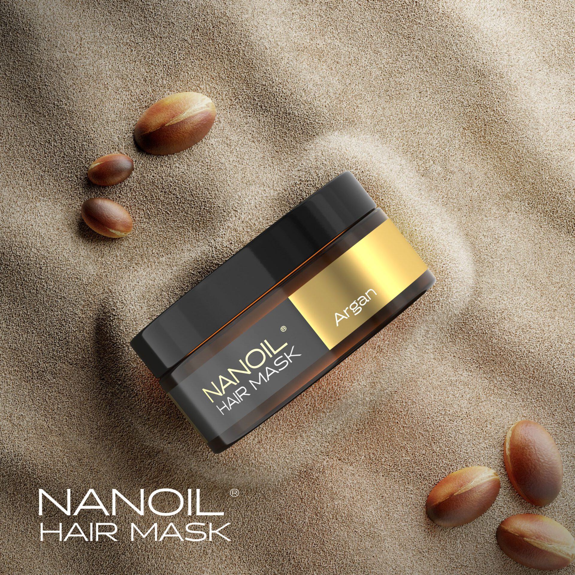 The power of argan oil in the Nanoil Argan Hair Mask. Does it really work?